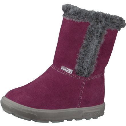 Ricosta USKY Waterproof Fur Effect Boots (Pink) 27 only!